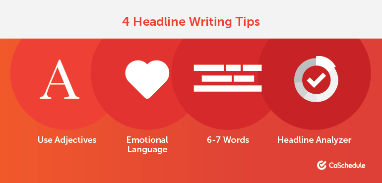 4 Headline Writing Tips for Bloggers