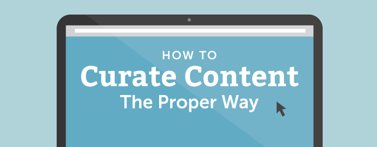 how to curate content