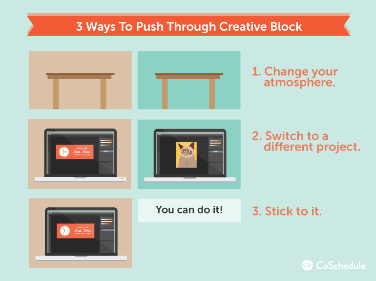 how to design blog graphics when you hit creative block