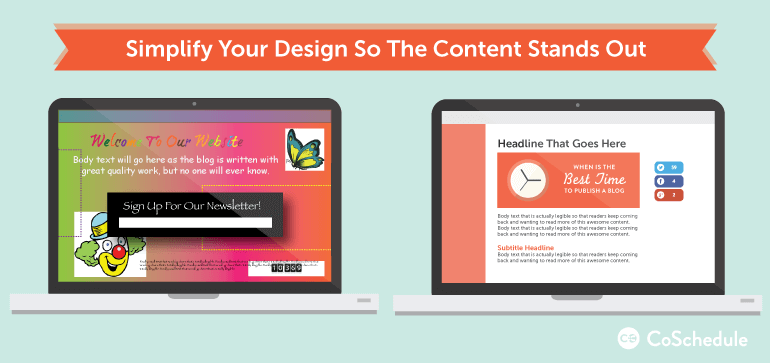 how to design blog graphics so your content stands out