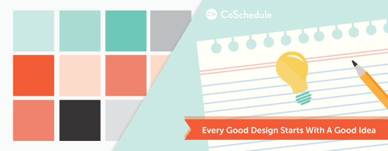 how to design blog graphics: start with a good idea