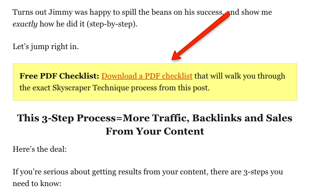 how to increase blog traffic with content upgrades