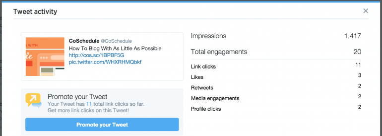 how to promote your blog with promoted tweets