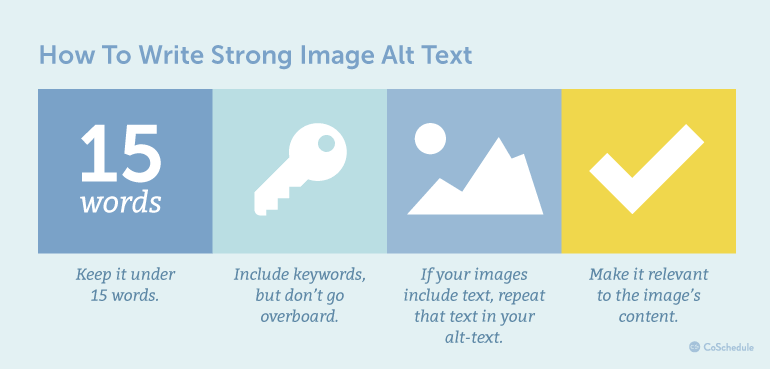 How to Write Strong Image Alt Text