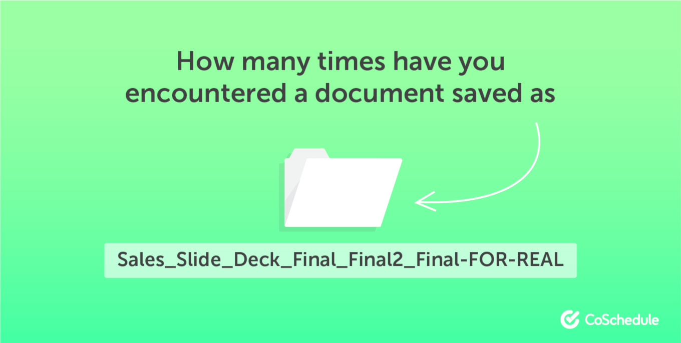 How many times have you saved a file ...