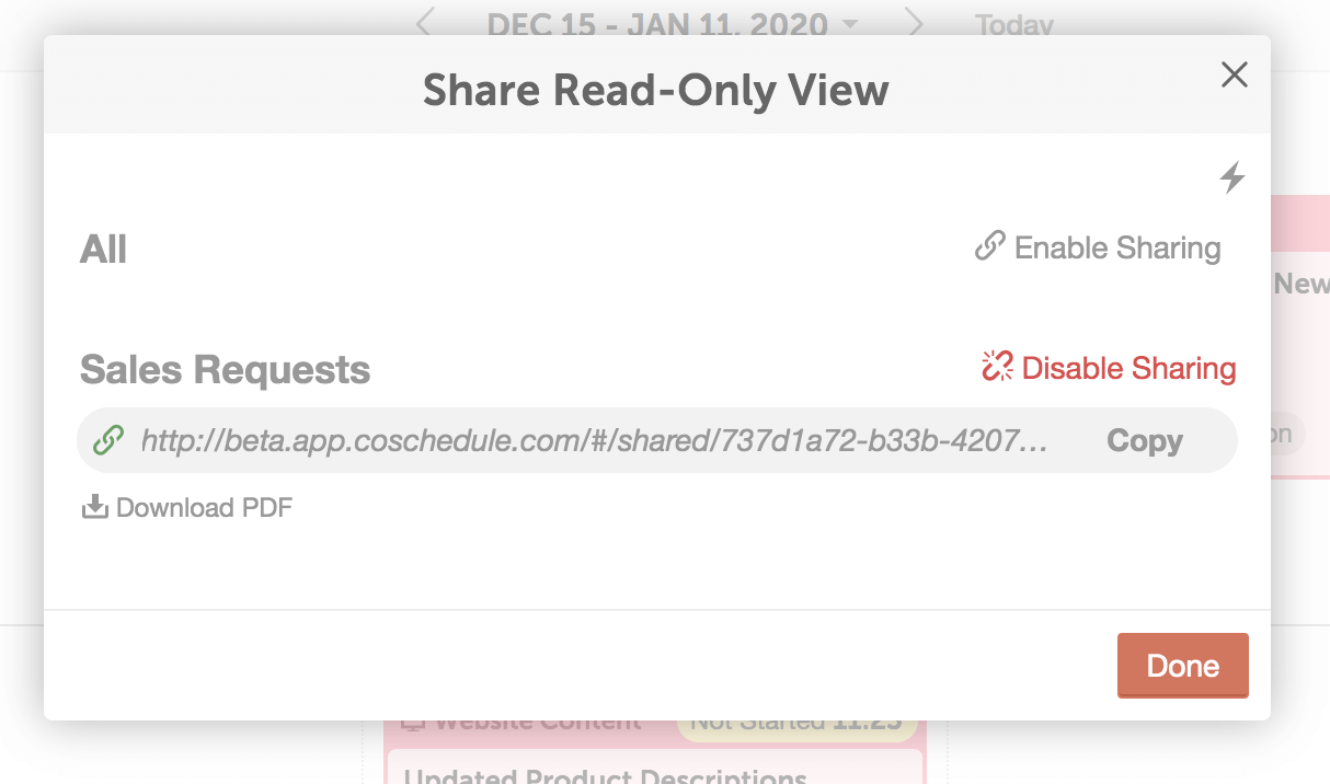 Share read-only