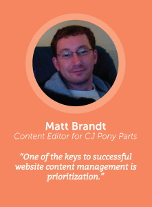 how to increase productivity with Matt Brandt