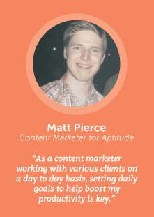 how to increase productivity with Matt Pierce