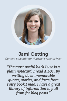 how to increase productivity with Jami Oetting