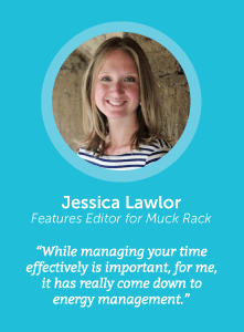 how to increase productivity with Jessica Lawlor