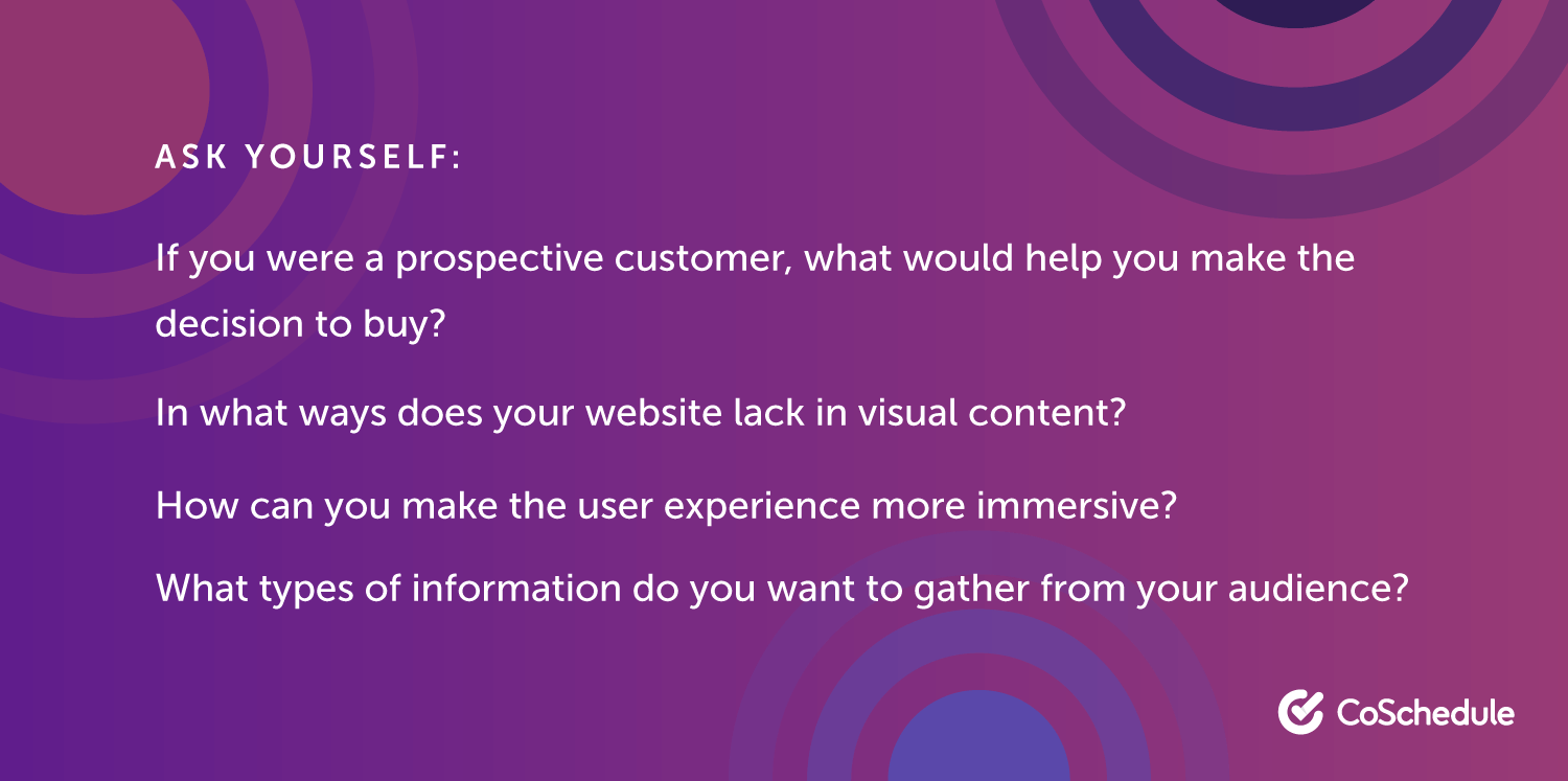 Questions to Ask When Creating Interactive Content
