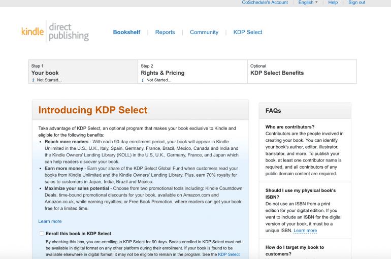 Introducing KDP Select
