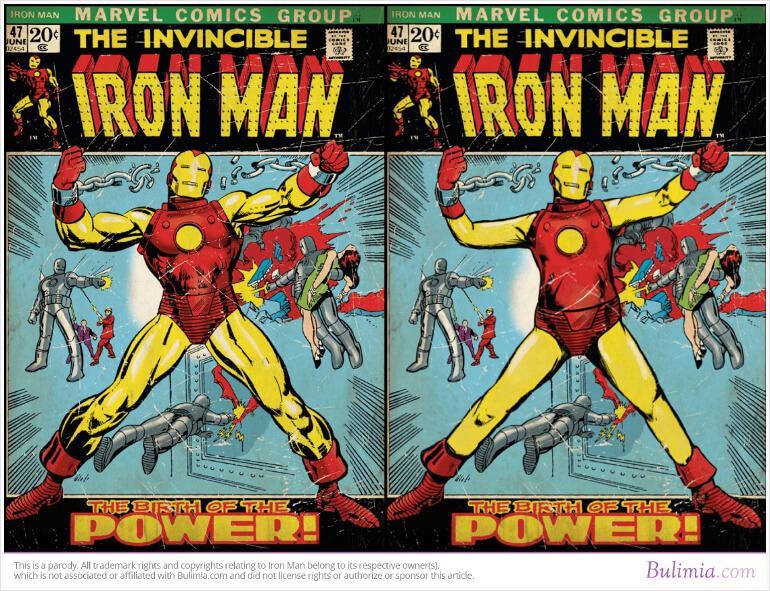 Iron Man Bulimia Ad