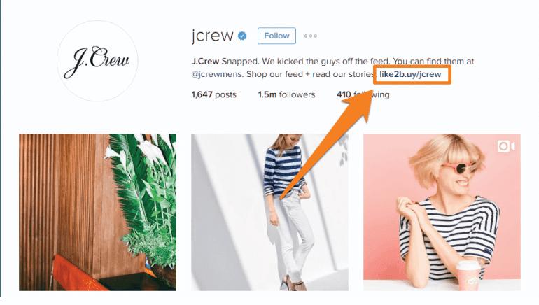 J Crew Instagram Profile URL