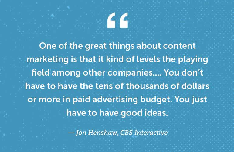 Quote from Jon Henshaw