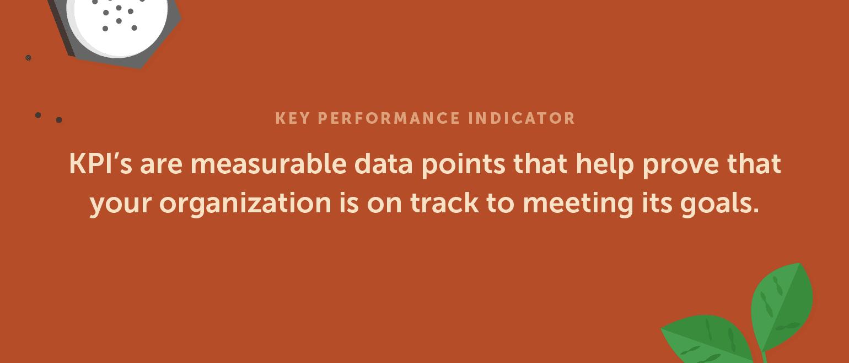 Definition of Key Performance Indicator