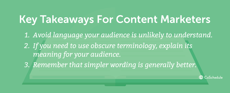 Key Takeaways For Content Marketers