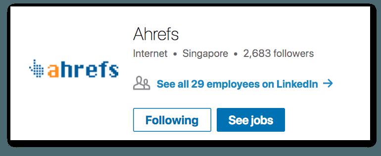 Example of a LinkedIn Profile Image
