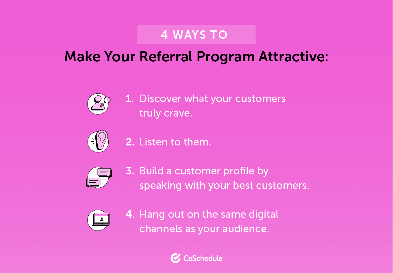 4 Ways to Make a Referral Program Attractive