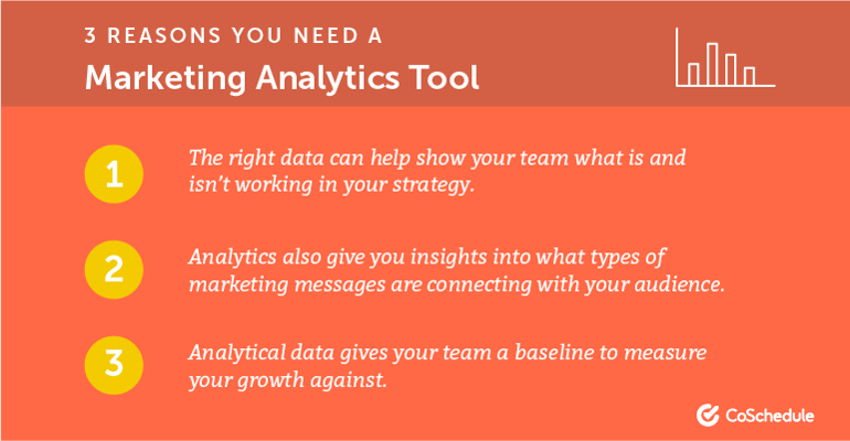 3 Reasons You Need a Marketing Analytics Tool