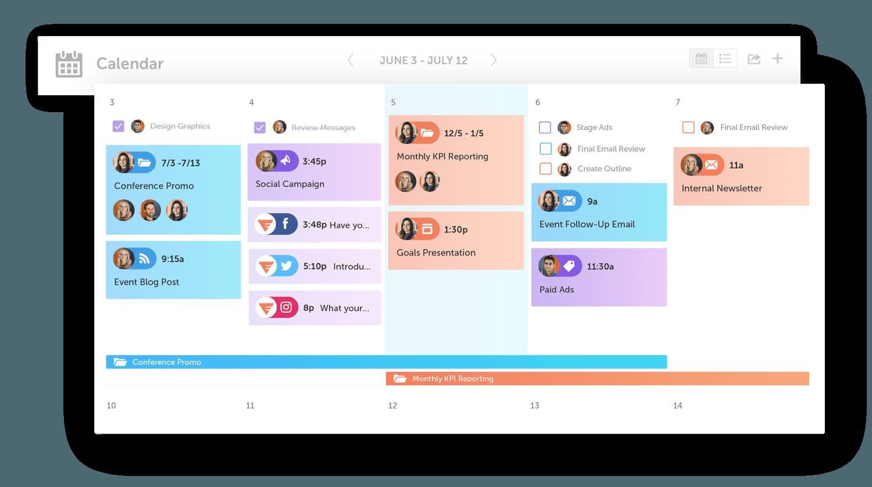 Marketing Calendar by CoSchedule
