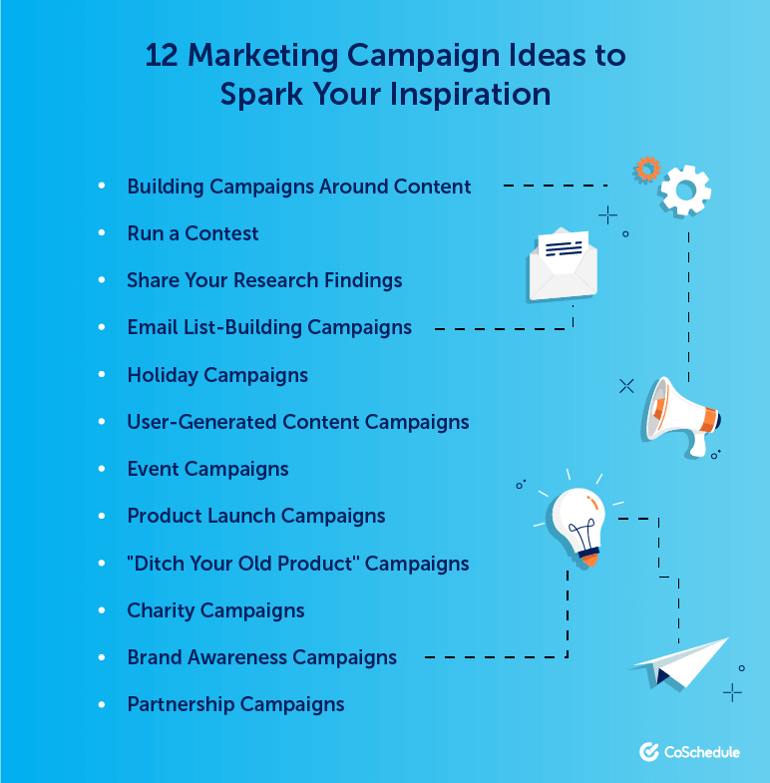 12 Marketing Campaign Ideas to Spark Your Inspiration