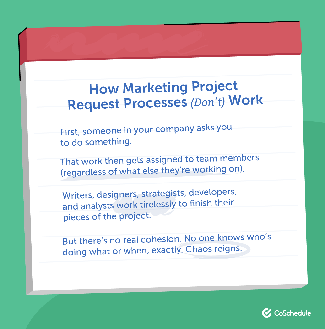 How Marketing Project Request Processes (Don't) Work