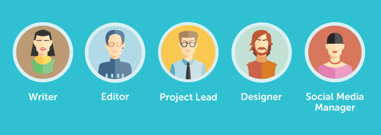 5 Roles For Your Marketing Team