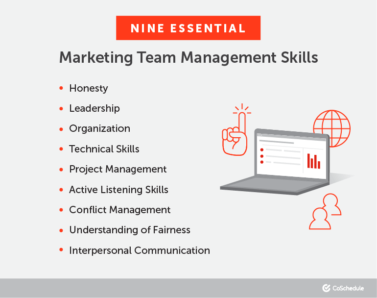 Nine Essential Marketing Team Management Skills