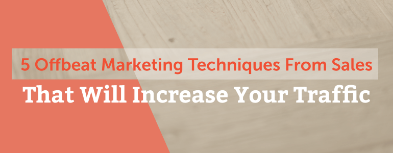 marketing techniques header