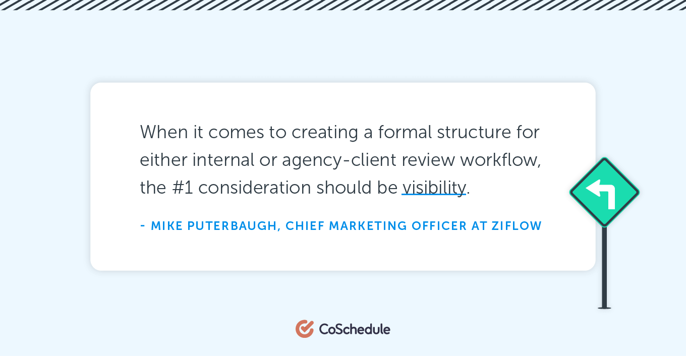 When it comes to creating a formal structure for either internal or agency-client review workflow ...