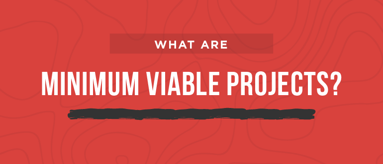 What Are Minimum Viable Projects?