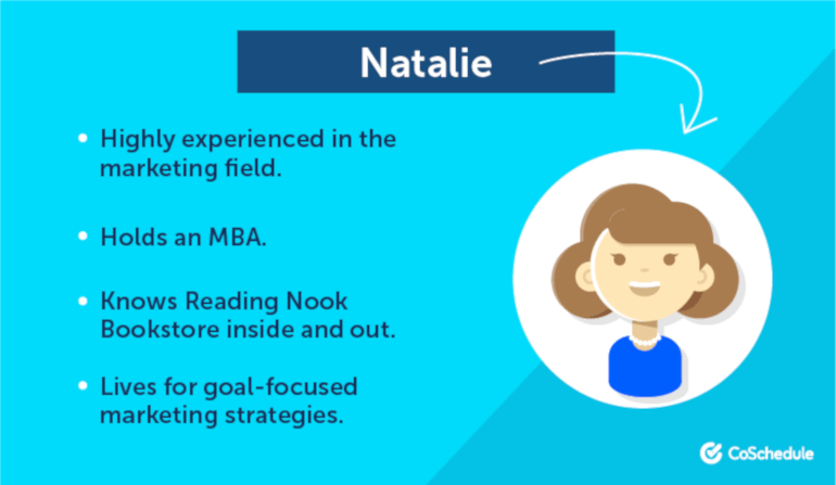 Natalie the Marketer