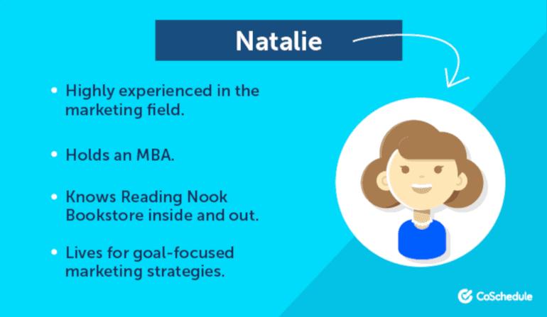 Natalie the Marketer