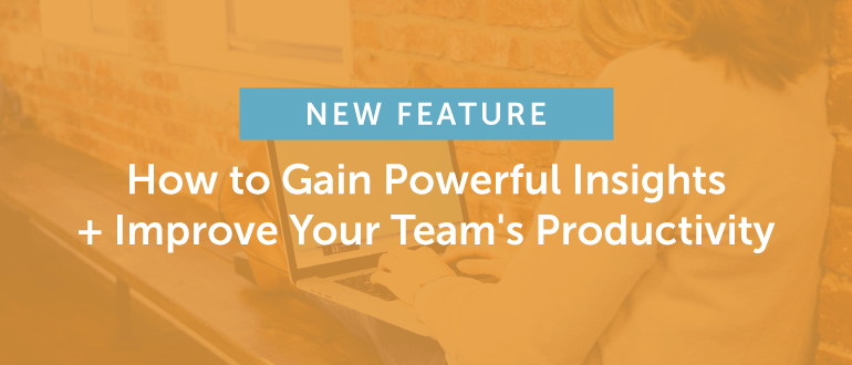 New Feature: How to Gain Powerful Insights + Improve Your Team's Productivity