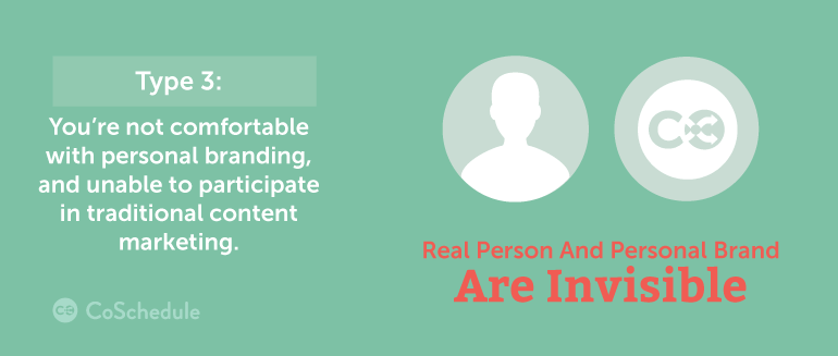 real personal branding is invisible, non-existant