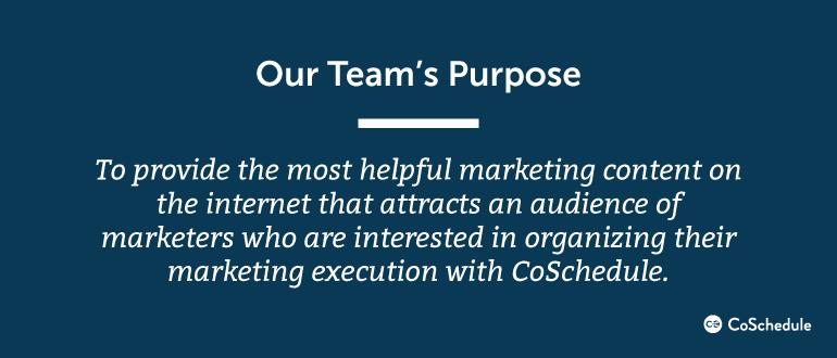 Description of the Demand Generation team's purpose