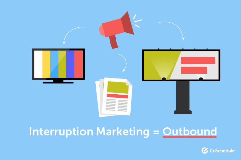 Interruption Marketing = Outbound