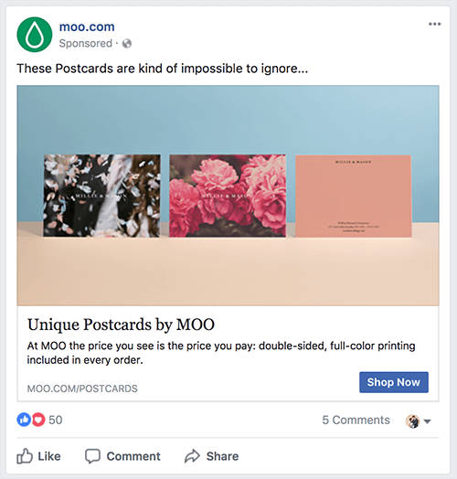 Paid Ad Example