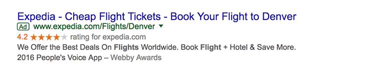 Pay Per Click Ad Example