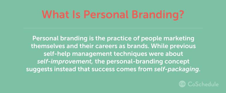 personal branding definition