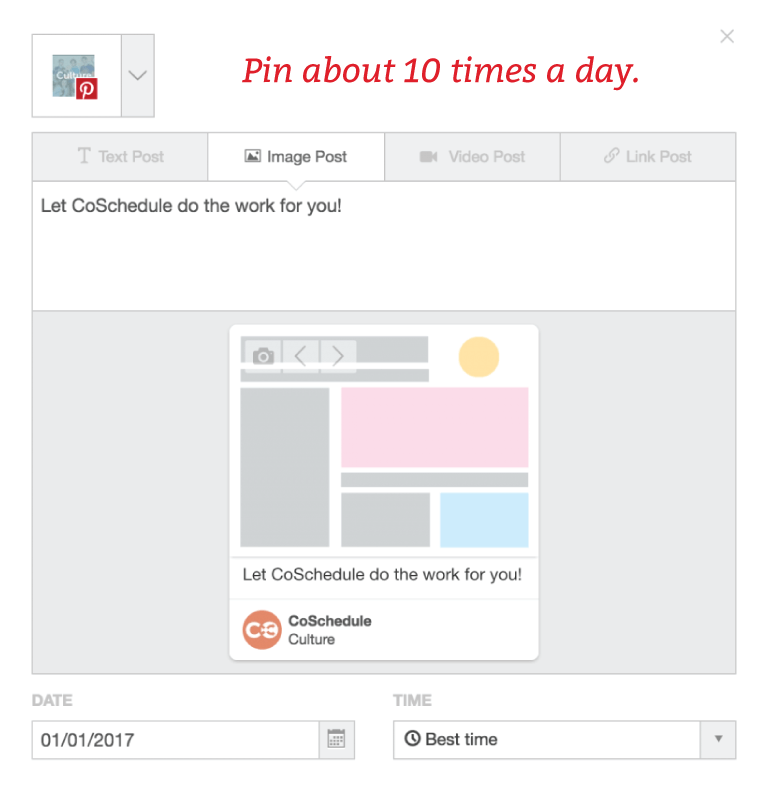 Pin 10 Times A Day