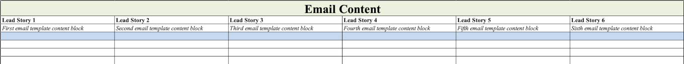 Plan Your Email Content on the Email Marketing Calendar