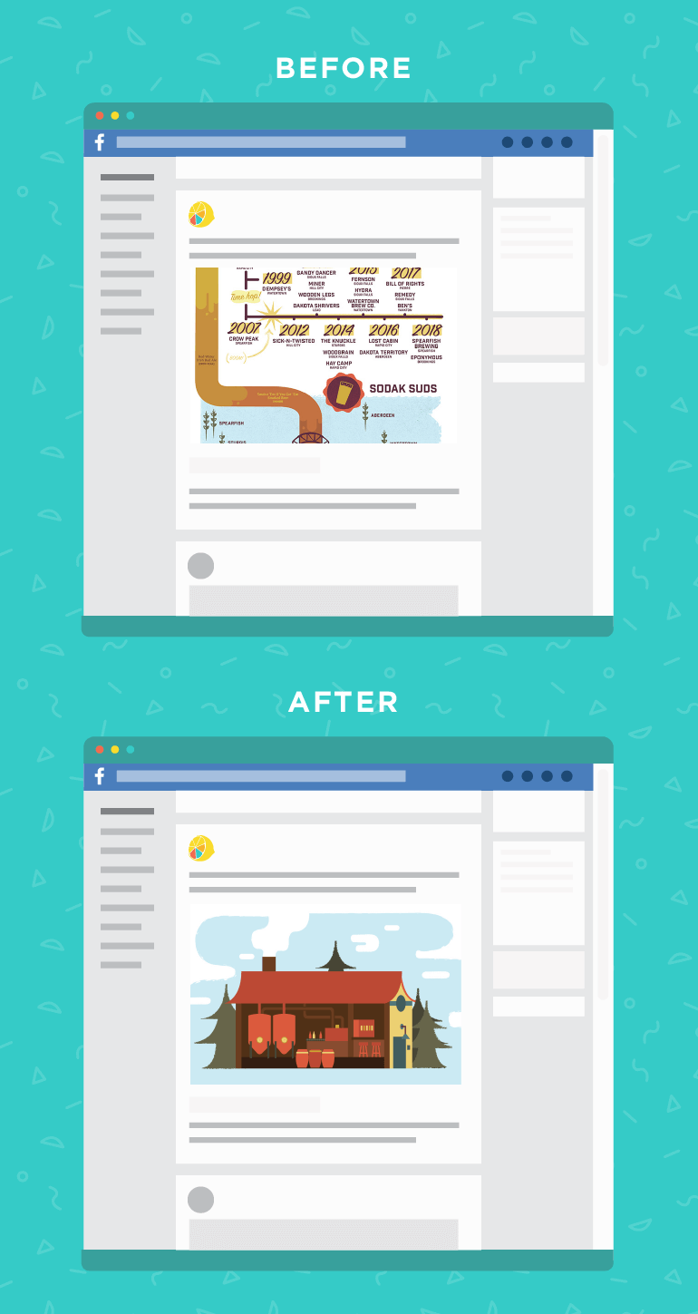 Before and After Image Preview