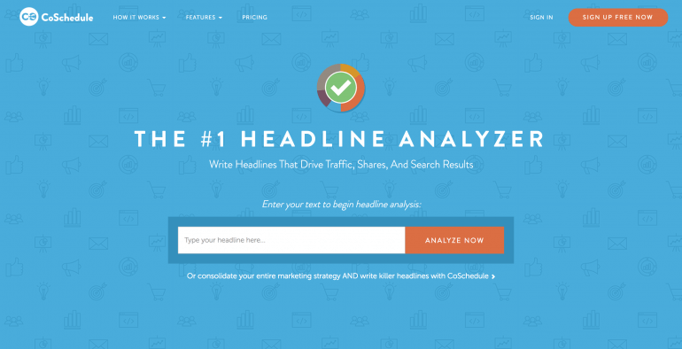Preview subject lines with the Headline Analyzer