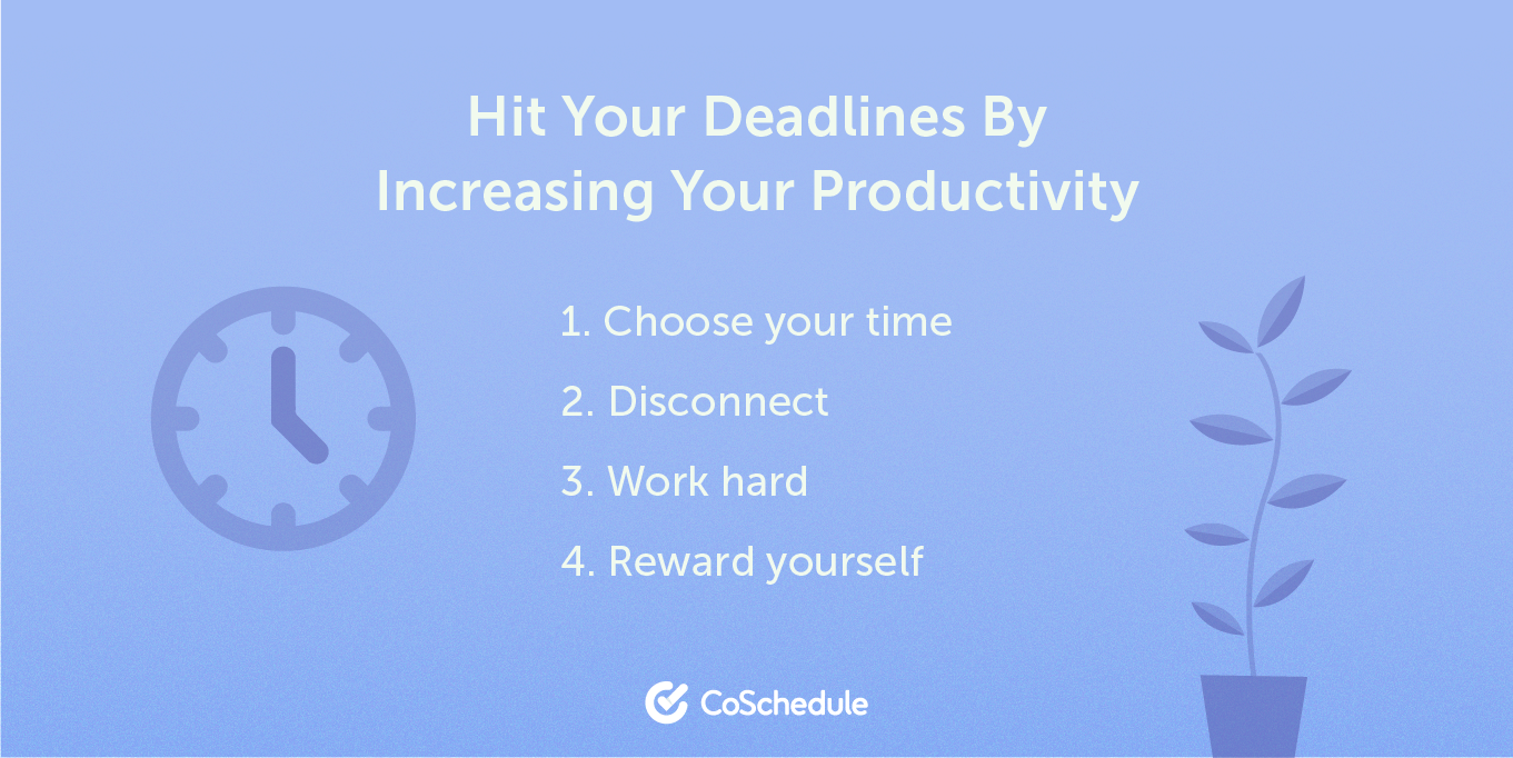 Increasing your productivity by following this list