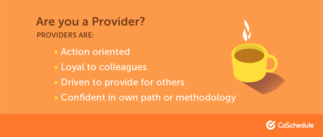 A list of traits that make up a provider