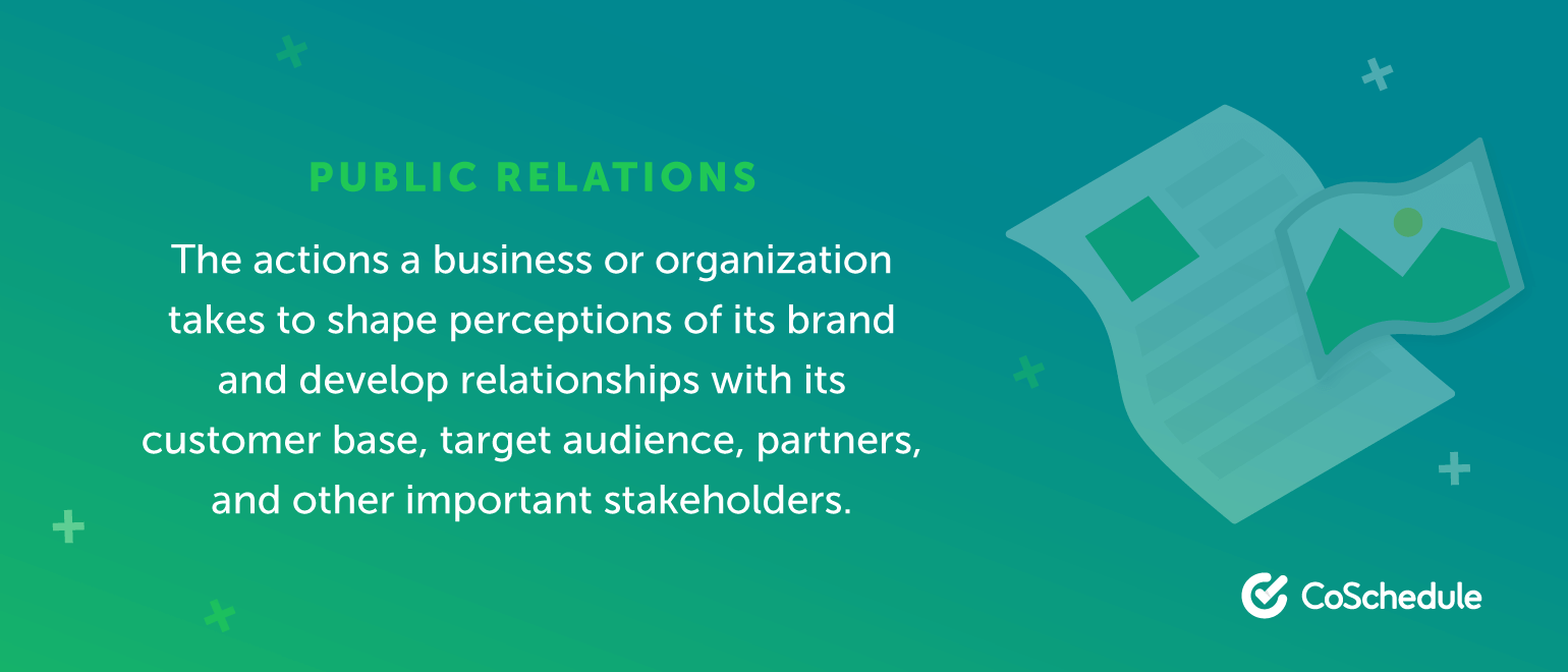 The actions a business or organization takes to shape perceptions of its brand.