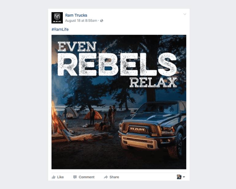 Even Rebels Relax