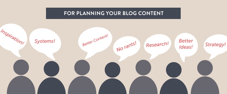 top reasons to plan your blog posts